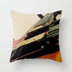 Guitar! Throw Pillow