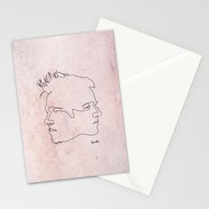 One line Fight Club Stationery Cards