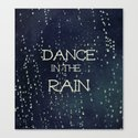 Dance in the Rain Canvas Print