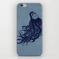 Octadecapus iPhone & iPod Skin