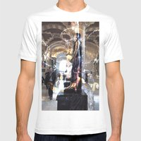 rynsr1j Mens Fitted Tee White SMALL