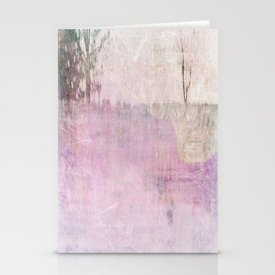 Abstract ~ Landscape Stationery Card