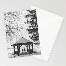 Winter is better with a friend Stationery Cards