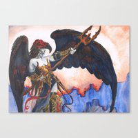 Avenging Angel Canvas Print