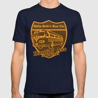 Haulin' A Mens Fitted Tee Navy SMALL