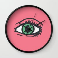 See All Evil Wall Clock