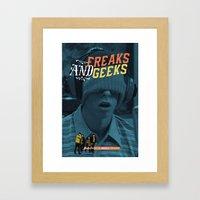 Freaks And Geeks Tv Post… Framed Art Print