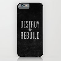 iPhone & iPod Case featuring Destroy / Rebuild by josh tomlinson