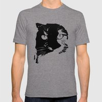Halloween Mens Fitted Tee Tri-Grey SMALL