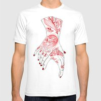 I Can't Quit You Mens Fitted Tee White SMALL