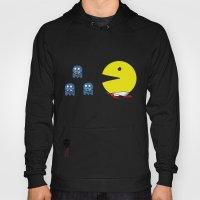 Pacman Effect Hoody