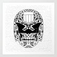 Day Of The Dredd Art Print