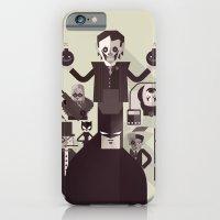iPhone & iPod Case featuring dark man fan art by danvinci