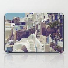 Streets of Santorini III iPad Case