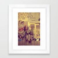 French Graffiti, Paris-2 Framed Art Print