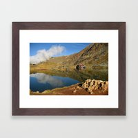 Corner of heaven Framed Art Print