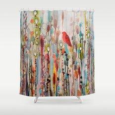 la vie comme un passage Shower Curtain