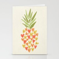 My Pineapple Valentine Stationery Cards