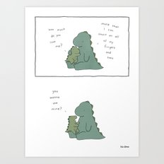 How Much  Art Print