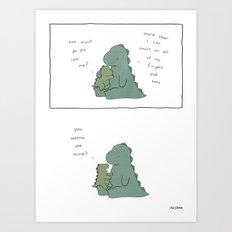 How Much  Art Print
