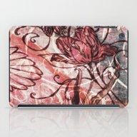 Red Tulip iPad Case