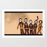 Misfits Art Print