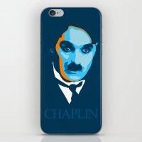 Charlie Chaplin iPhone & iPod Skin