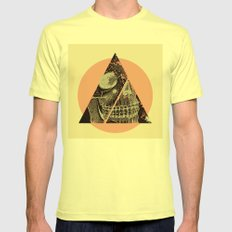 skullex Mens Fitted Tee Lemon SMALL