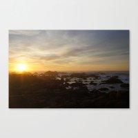 SUNSET - MONTEREY CALIFORNIA Canvas Print