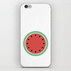 Watermelon Clock Triptych iPhone & iPod Skin