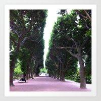 Paris Jardin des Plantes Art Print