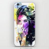 Milla Fashion Portrait G… iPhone & iPod Skin