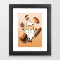 Magical Bakery Framed Art Print