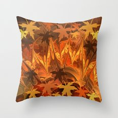 Fall impressions Throw Pillow