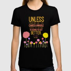 Unless Someone Like You.… Womens Fitted Tee Black SMALL