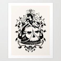 Mrs. Death II Art Print