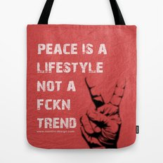 Peace Out!  Tote Bag