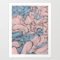 In Mixed Company Art Print