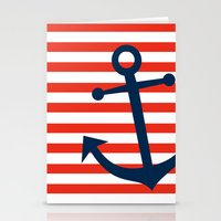 Nautical Anchor Stationery Cards