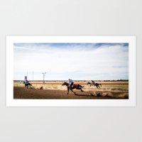 Country Racing Art Print