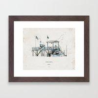 Tigre Delta: Quilmes Framed Art Print