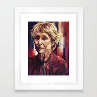 Mrs. Hudson Framed Art Print