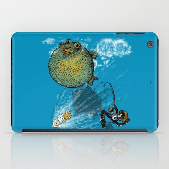pufferfish baloon iPad Case