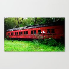 Ohio Train  Canvas Print