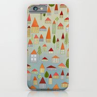 100 Little Houses iPhone 6 Slim Case