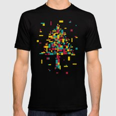 Brick of Nature Mens Fitted Tee Black SMALL