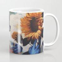 Optimus Prime With Sunfl… Mug