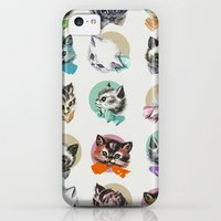 iPhone 5c Cases featuring Cats & Bowties by Zeke Tucker