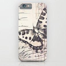 postal butterfly {b&w Slim Case iPhone 6s