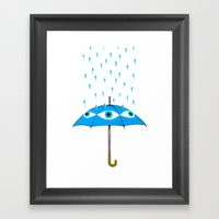 Storms Are Brewing In Yo… Framed Art Print